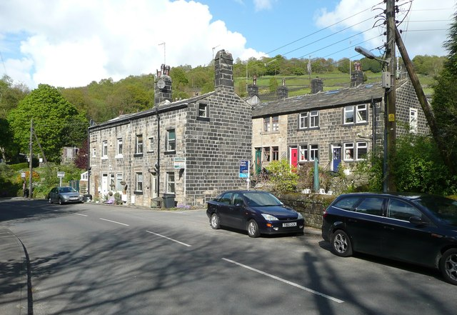 Houses at Twist Clough, Cragg Vale