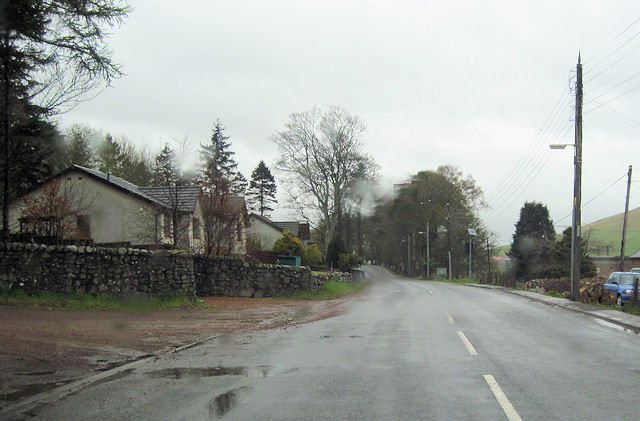 A702 north through Abington