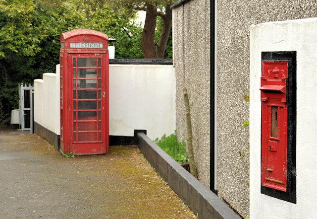 Victorian wall box, Ballylesson, Belfast (2)