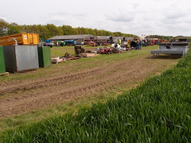 Machinery sale at Weston Woods Farm