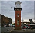 SJ7687 : Altrincham Clock Tower by Gerald England