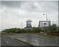 NS5167 : X-scape at Braehead from entry roundabout by John Firth