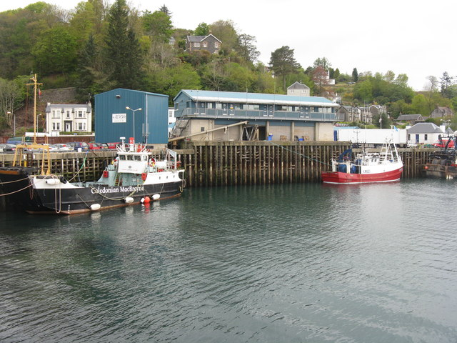 Oban harbour, South Pier