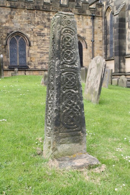 Saxon Cross shaft, All Saints' Bakewell