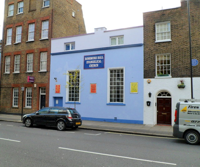 Rossmore Hall Evangelical Church, Marylebone