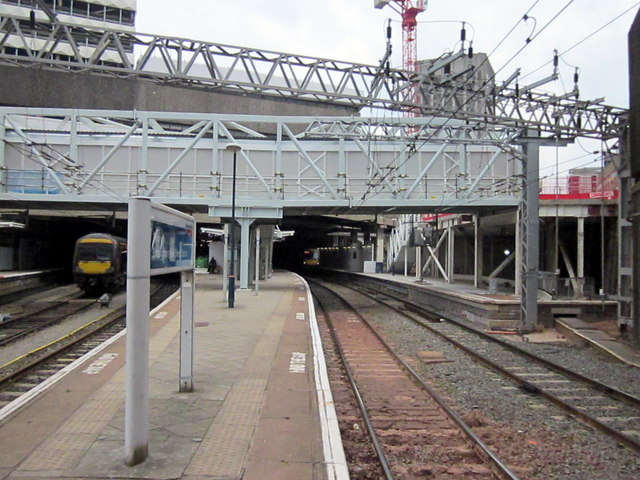 New Street Station Platform 11, Work Continuing