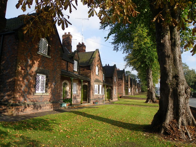 Almshouses, Newcastle Road
