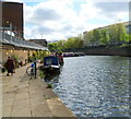 TQ2782 : Canalside path, Regent's Canal, London by John Grayson