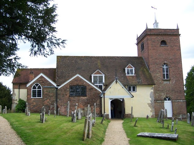 All Saints church and churchyard