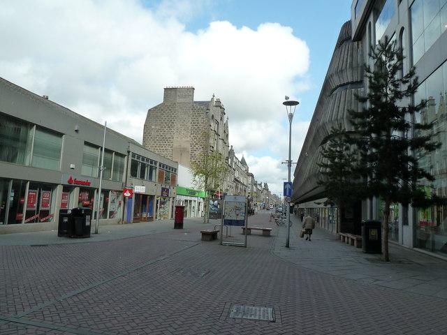 Pedestrian area, George Street, Aberdeen