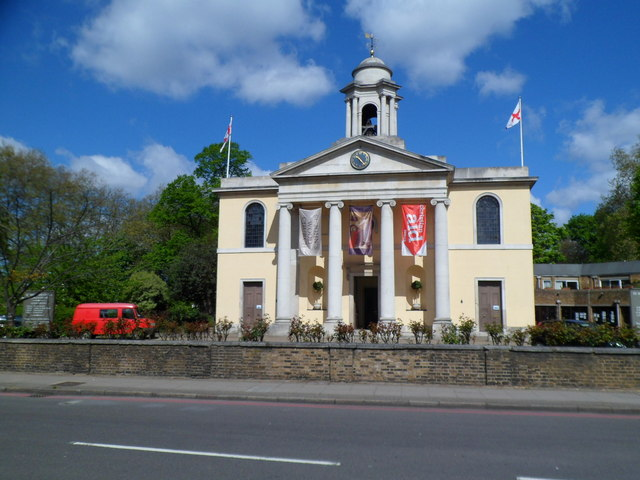 Grade II* listed St John's Wood Church, London