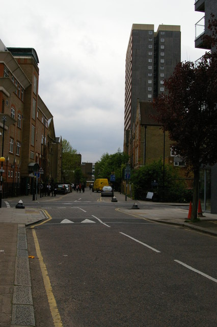 Mansford Street, E2, looking south