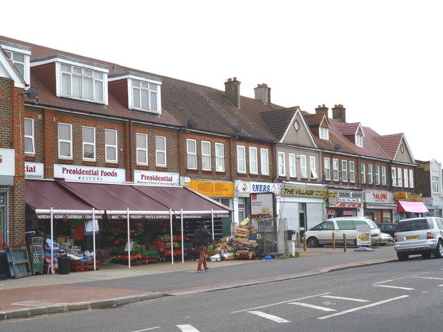 Shops on Green Lane