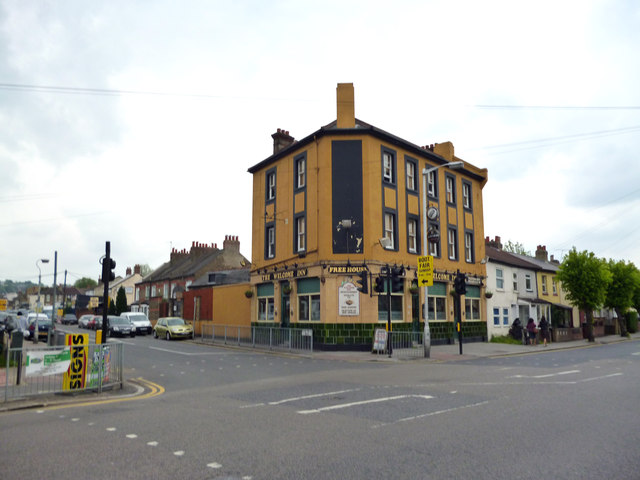 Thornton Heath:  The Welcome Inn