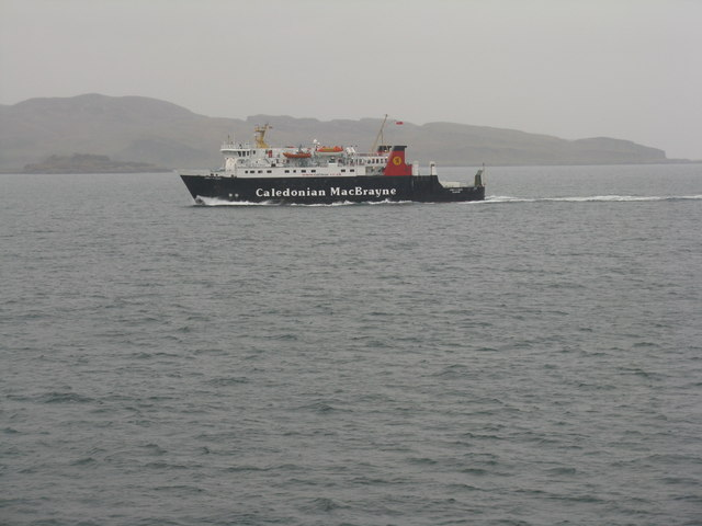 Kerrera from the Oban-Mull ferry