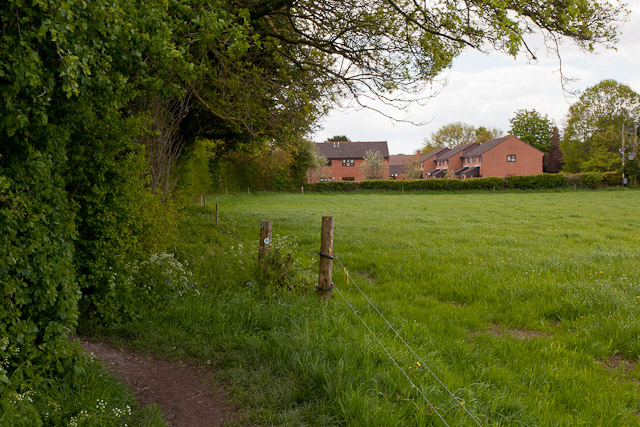Footpath north of Rookwood View