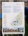 SU6511 : Housing development noticeboard on Frenchies Field by Peter Facey