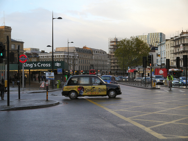Euston Road, King's Cross Station