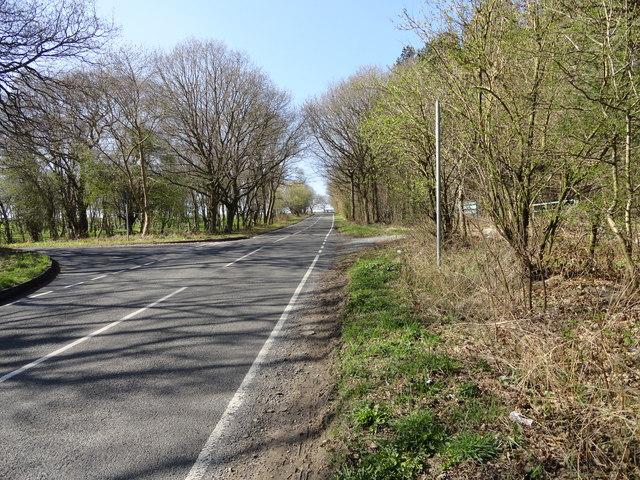 Crossroads near Silverhills
