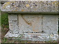 TL3770 : Benchmark on St Mary's Church, Over by Keith Edkins