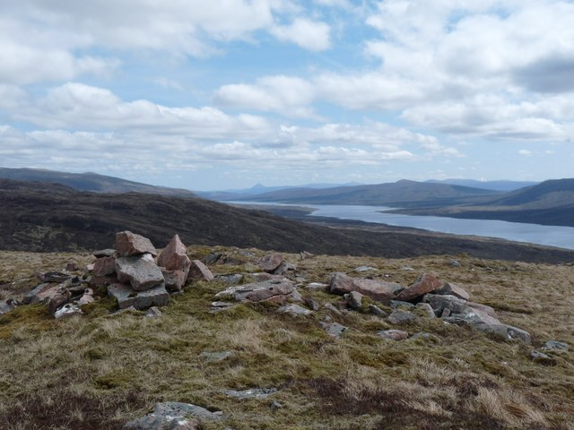 Summit of Meall na Duibhe