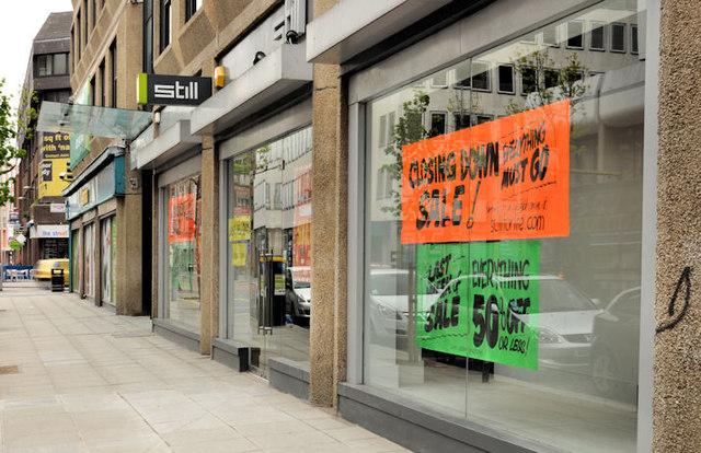 Shops Near Me >> Closed shop, Belfast (1) © Albert Bridge :: Geograph ...