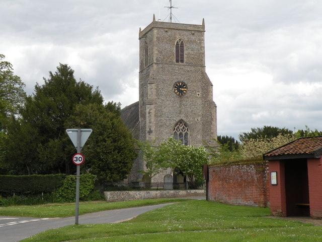 Holy Cross: the parish church of Caston