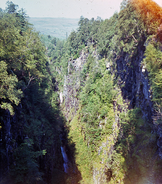 The Corrieshalloch gorge