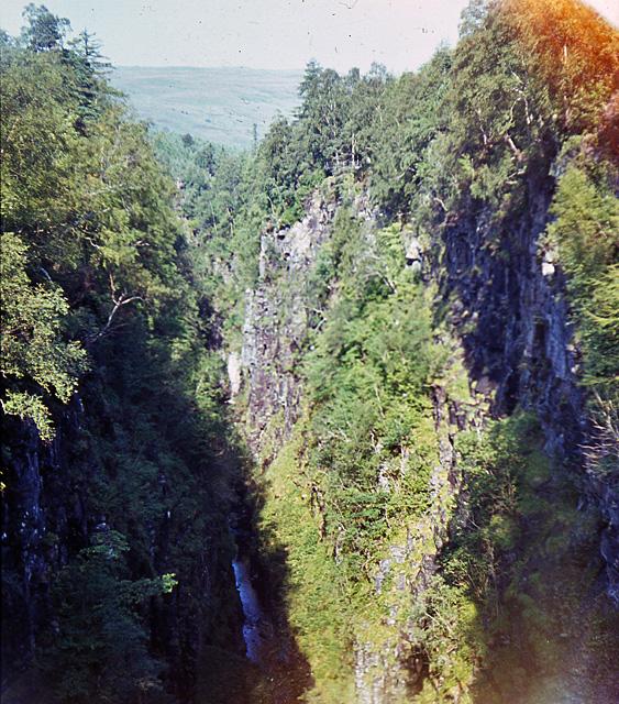 The Corrieshalloch gorge