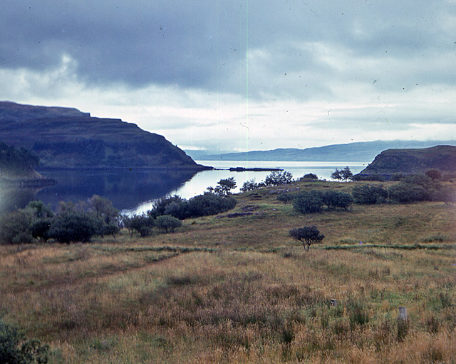 View over Portree bay