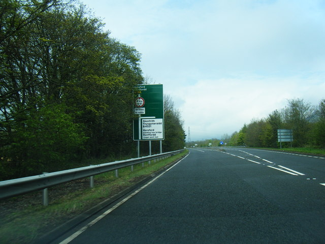 A465 at B4521 junction