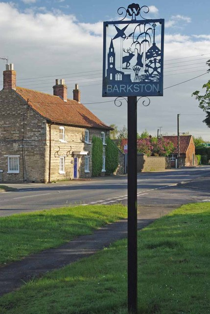 Barkston Village Sign