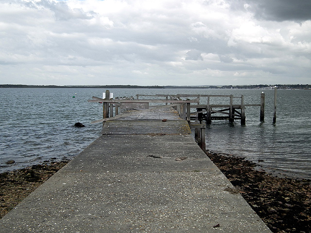 The Pottery Pier on Brownsea Island