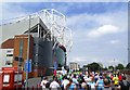 SJ8096 : East Stand - Old Trafford Stadium by Anthony Parkes