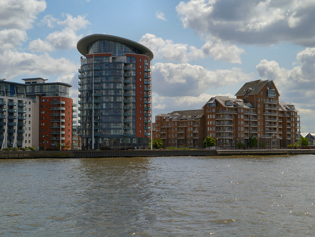 River Thames, Isle of Dogs
