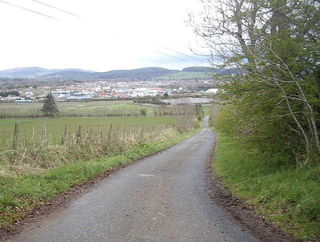 View towards Huntly