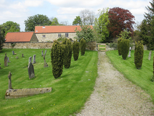 Churchyard path, St Michael and All Angels