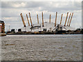 TQ3980 : River Thames, The O2 Arena by David Dixon