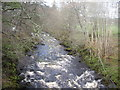NJ5340 : Looking upstream River Deveron by Stanley Howe