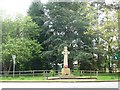 SJ7873 : 1914-18 War Memorial by Christine Johnstone