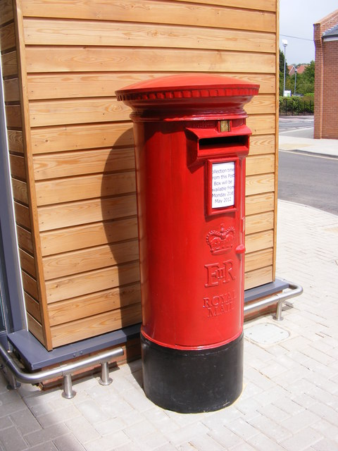 Tesco Saxmundham Postbox