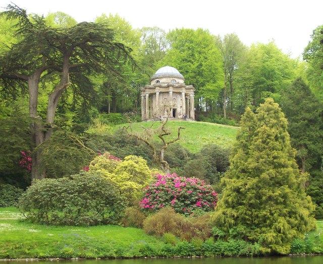 The Temple Of Apollo Stourhead Gardens Len Williams Cc