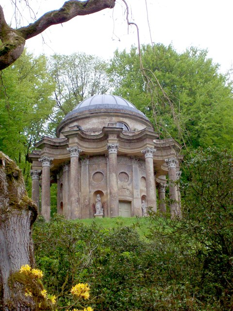 The Temple Of Apollo, Stourhead Gardens © Len Williams