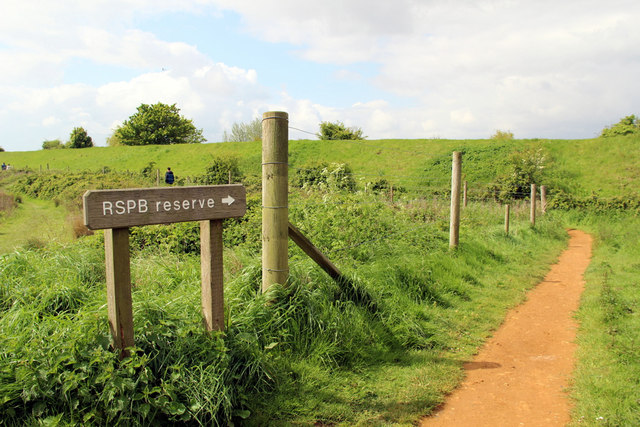 Footpath to RSPB Reserve, Snettisham, Norfolk