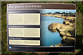 TF6432 : Information Board about Wetland Area, Snettisham, Norfolk by Christine Matthews