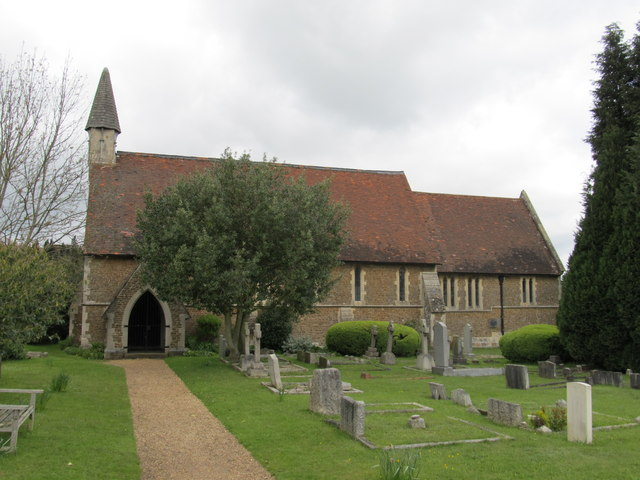 St Luke�s Church, Burpham