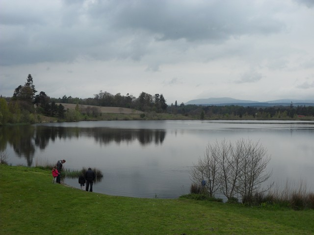 Loch at Blair Drummond Safari Park