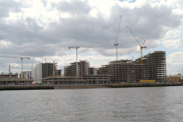 Capital Quay Development, Greenwich Reach