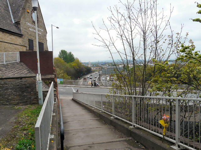 View from bottom of Dodge Hill
