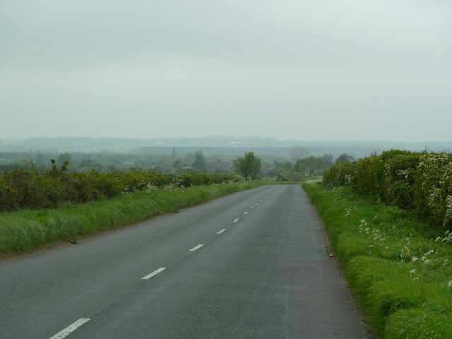 Edworth Road towards Langford